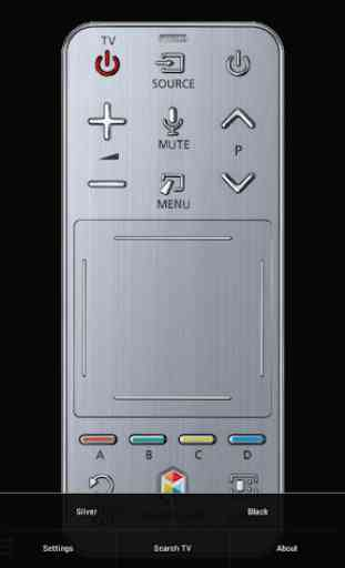 TV (Samsung) Smart Remote (w touchpad & keyboard) 1