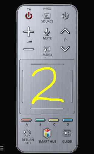 TV (Samsung) Smart Remote (w touchpad & keyboard) 3