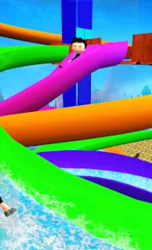 Water Slide Park Game Free 2