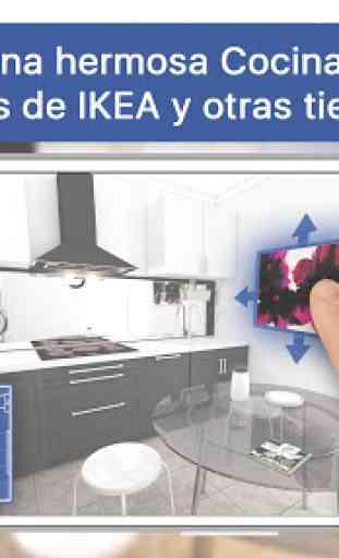 3D Diseñador de cocina para IKEA: iCanDesign 1