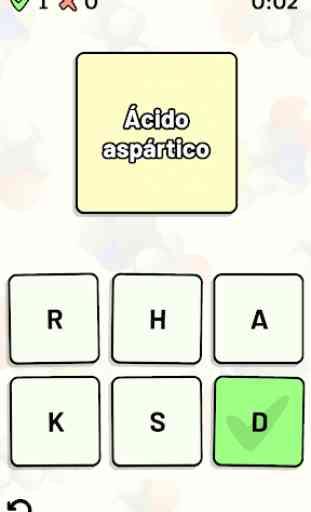 Aminoácido Quiz 3