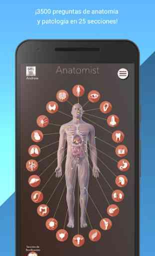 Anatomist - Anatomía Cuestionario Juego 1