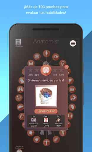 Anatomist - Anatomía Cuestionario Juego 2