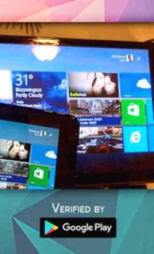 Clonar pantalla del móvil en la TV. 3