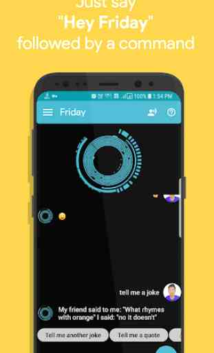 Friday: Smart Personal Assistant 2