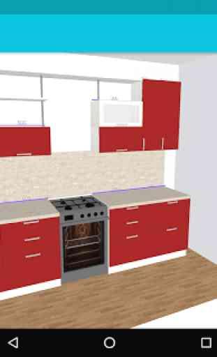 Mi Cocina: Planificador 3D 3