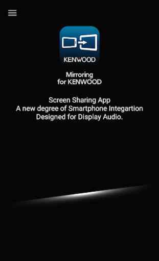 Mirroring for KENWOOD 1
