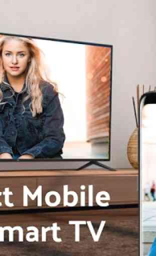 Screen Mirroring: TV Cast para All TV 4