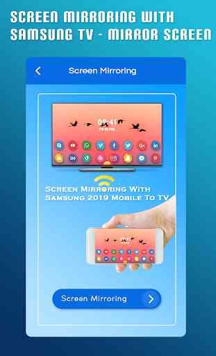 Screen Mirroring With Samsung TV - Mirror Screen 3