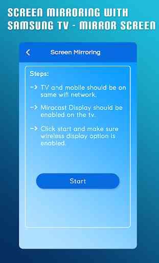 Screen Mirroring With Samsung TV - Mirror Screen 4