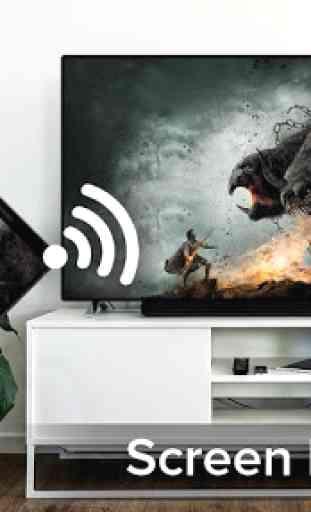 Screen Mirroring With Samsung TV : Mirror Screen 2