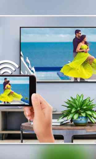 Screen Mirroring with TV : Mobile Screen to TV 1