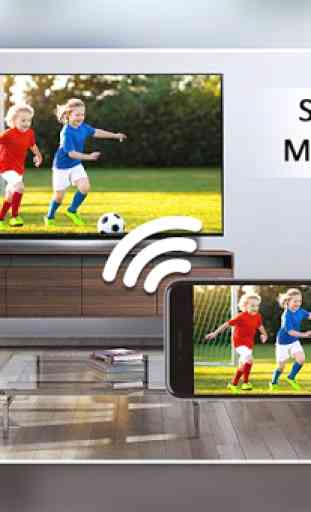 Screen Mirroring with TV : Mobile Screen to TV 2