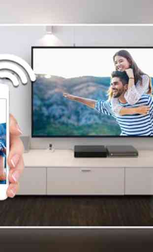 Screen Mirroring with TV : Mobile Screen to TV 4