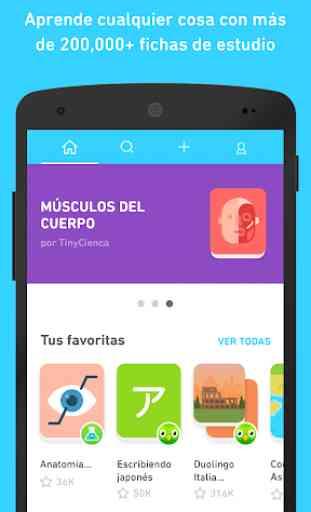 TinyCards de Duolingo: Aprende jugando, ¡gratis! 1