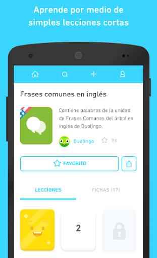 TinyCards de Duolingo: Aprende jugando, ¡gratis! 2
