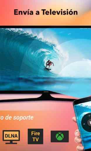 Transmitir a smart TV - Chromecast, enviar a TV 1
