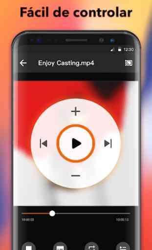 Transmitir a smart TV - Chromecast, enviar a TV 3