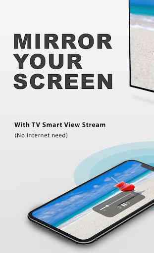 TV Smart View Stream All Share & Screen Mirroring 1