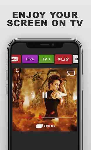 TV Smart View Stream All Share & Screen Mirroring 4