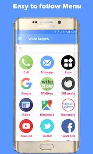 Voice Search Pro: Asistente Virtual 1