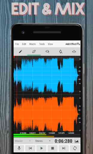 WaveEditor for Android™ Audio Recorder & Editor 1