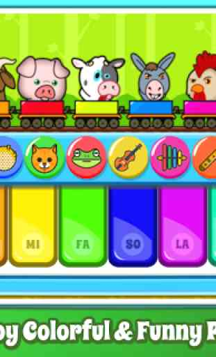 Baby Piano Games & Music for Kids Gratis 2