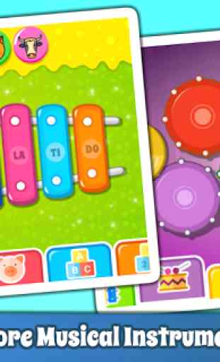 Baby Piano Games & Music for Kids Gratis 3