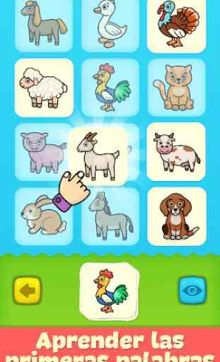 Baby tarjetas didácticas para niños pequeños 1