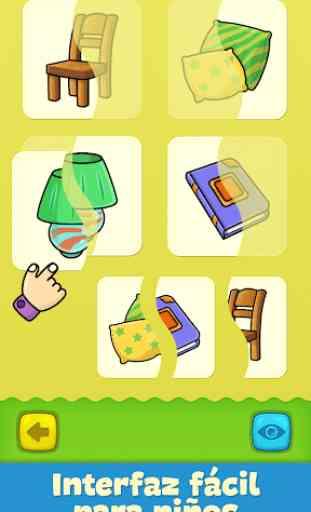Baby tarjetas didácticas para niños pequeños 3