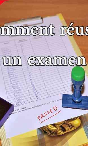Comment réussir un examen 1