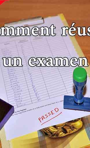 Comment réussir un examen 3