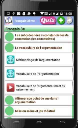 Français 3ème 3