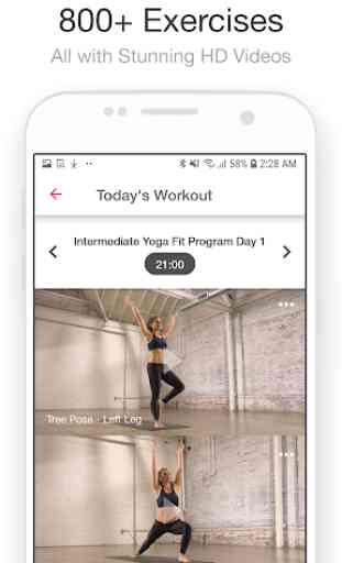 Jillian Michaels Fitness | Workout + Meal Planner 4