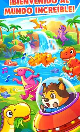 Juegos de Dinosaurios para bebés y niños de 3 años 1