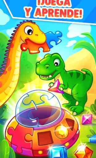 Juegos de Dinosaurios para bebés y niños de 3 años 2