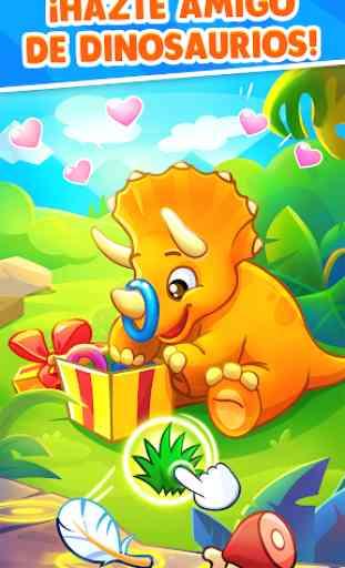Juegos de Dinosaurios para bebés y niños de 3 años 4