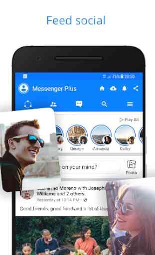 Messenger para mensajes de texto, vídeo chat y más 4
