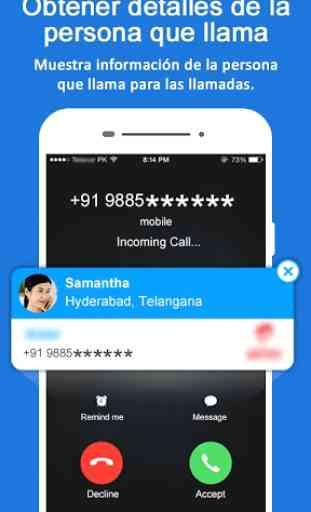 Rastreador de ubicación de número móvil 1