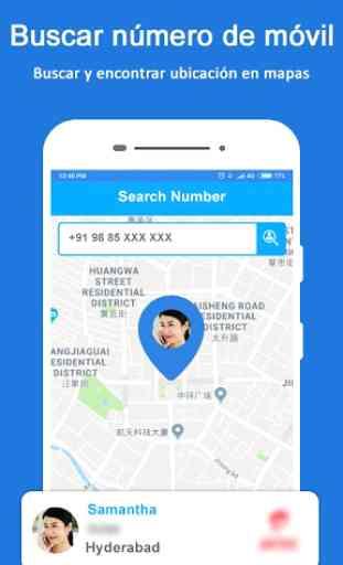 Rastreador de ubicación de número móvil 2