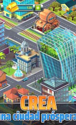 Construye tu Ciudad Tropical (Town Build Sim Game) 2