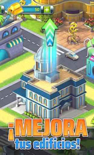 Construye tu Ciudad Tropical (Town Build Sim Game) 4