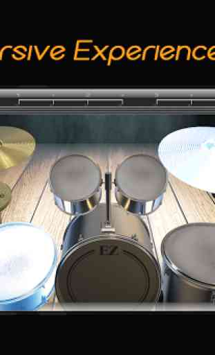Easy Real Drums-Real Rock and jazz Drum music game 4