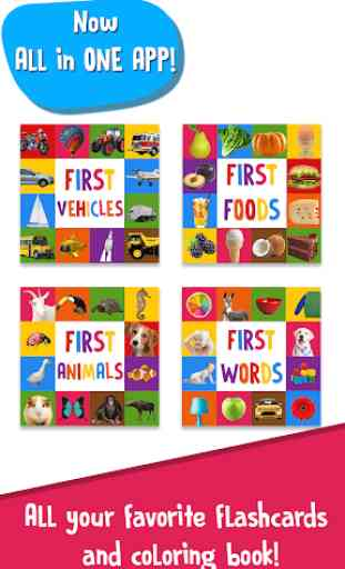 First Words Baby Games: Toddler Learning Games 4
