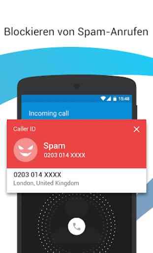 Identificador de llamadas y bloqueador de llamadas 2