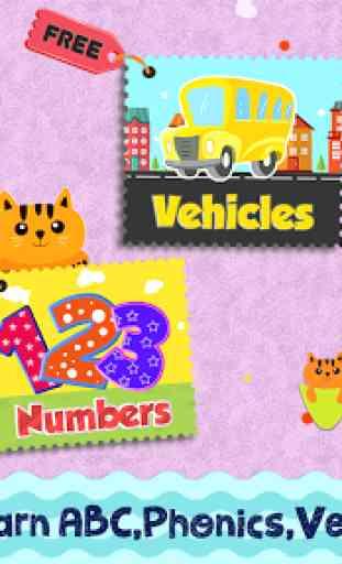 Kids Preschool Learning Songs & Offline Videos 2