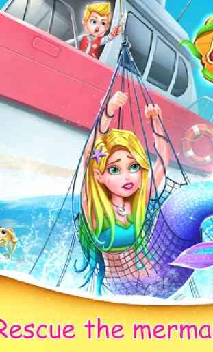 Mermaid Secrets1- Mermaid  Princess Rescue Story 1