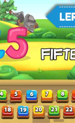 Preschool Learning - Kids ABC, Number, Color & Day 4