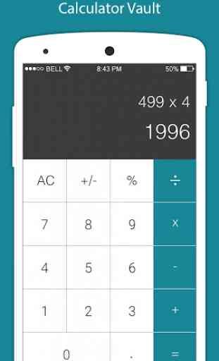 Calculadora - Bóveda para Ocultar foto, video 1
