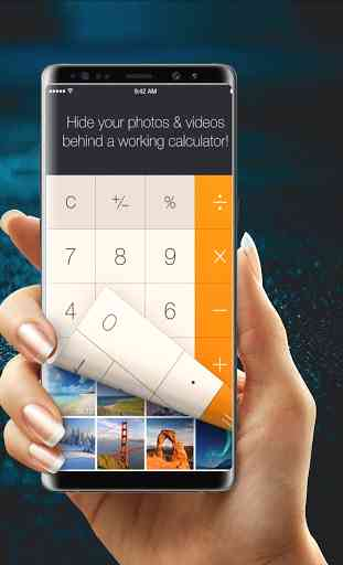 calculator hide photos and videos 3